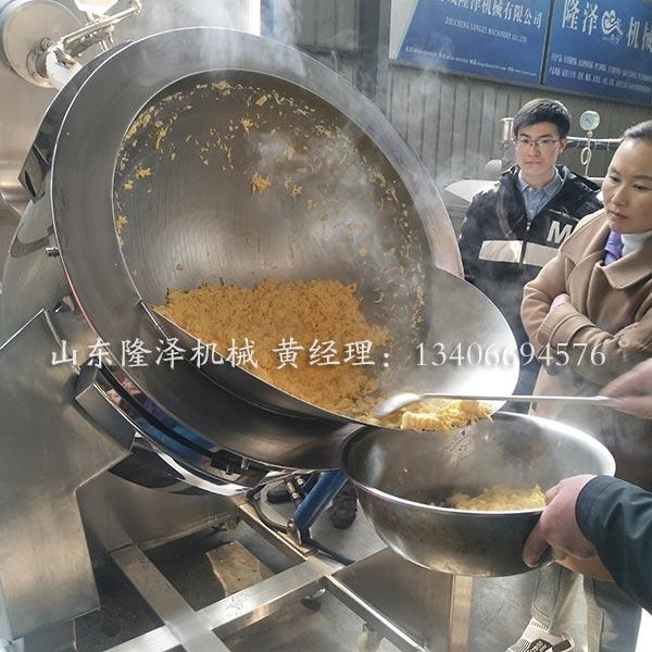 大型自动炒菜机